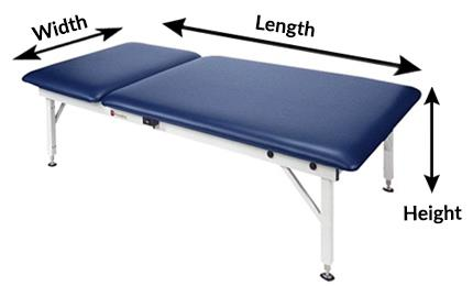 Treatment Table Measurements