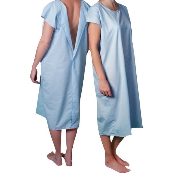 Core Patient Gown with Hook and Loop Closure